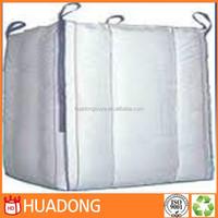 Factory price high quality PP big bag/FIBC bag/ super sack for 1500kg, top open, bottom plain , pallet, 100% new virgin resin, c