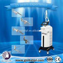 CE approved rf tube acne removal co2 fractional laser rf excited machine