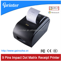Gprinter 76mm impact Dot matrix thermal receipt Printer supported multi-ply receipt