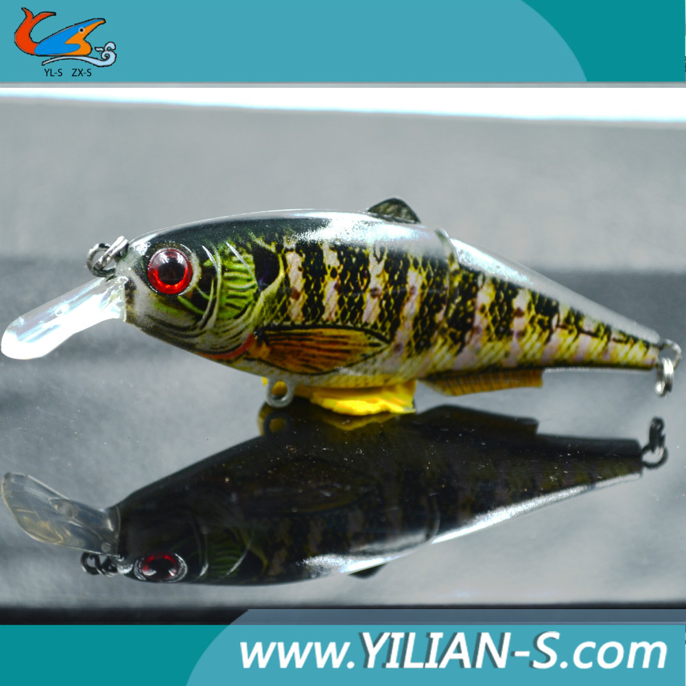 Mini jointed fishing lures white perch lures fishing for White perch fishing rigs