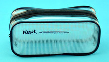 2015 customized printing bag zipper, cosmetic bag, plastic zip lock bag