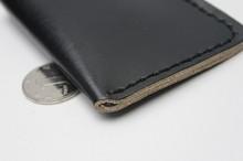 wnu9363 handmade multifunctional men Italian leather business card case holder