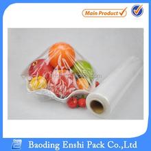 Thick plastic roll transparent body film wrap