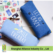 Fashion Jeans Office and School Pencil Case Pen Cover Pouch