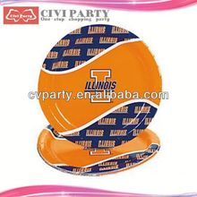 lowest price Birthday Party Theme Packs Plates disposable tea party supplies unique paper dish