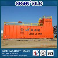 SRON Diesel Generator Fuel Tank/We Specialize on Technology of Silos and Tanks