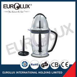 600W double stainless steel blade mini food processor