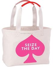 Alibaba China Supplier Wholesale popular designer cotton shopping bag