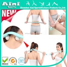 Massage Stick Muscle Roller Treats Pain on Back , Waist, Neck, Shoulder, Legs with Two Adjustable TPR Massage balls