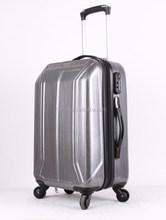 Metal style Fashion Hot Sell PC Luggage /carry on luggage /Travel Luggage