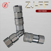 ZJ-FF flat face equal and shape quick couplers female connection