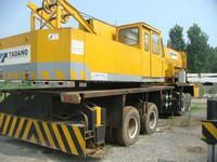 Japanese manufacture, used Tadano 80 ton truck crane