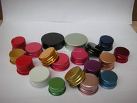 printing aluminum screw cap for hair gel,colorful aluminu lid for glass bottle
