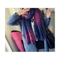 Wholesale women and men wear different color choice fashionable long and warm beautiful unisex scarves