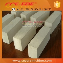CCEWFIRE low thermal conductivity furnace insulating fire brick