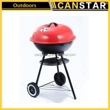 High quality iron mini ceramic charcoal BBQ grills