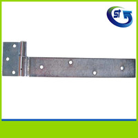 GI Heavy duty wooden gate pipe strap hinge types