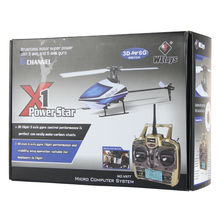 WL TOYS V977 Newest 3D to 6Gyro model shuffle 6CH 2.4G RC Helicopter Power Star X1 Brushless Flybarless rc helicopter