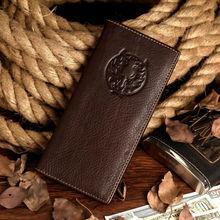 Top Selling Men Genuine Leather Travel Wallet # 8017-1C