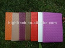 For ipad mini Carbon Fiber Flip Leather Case
