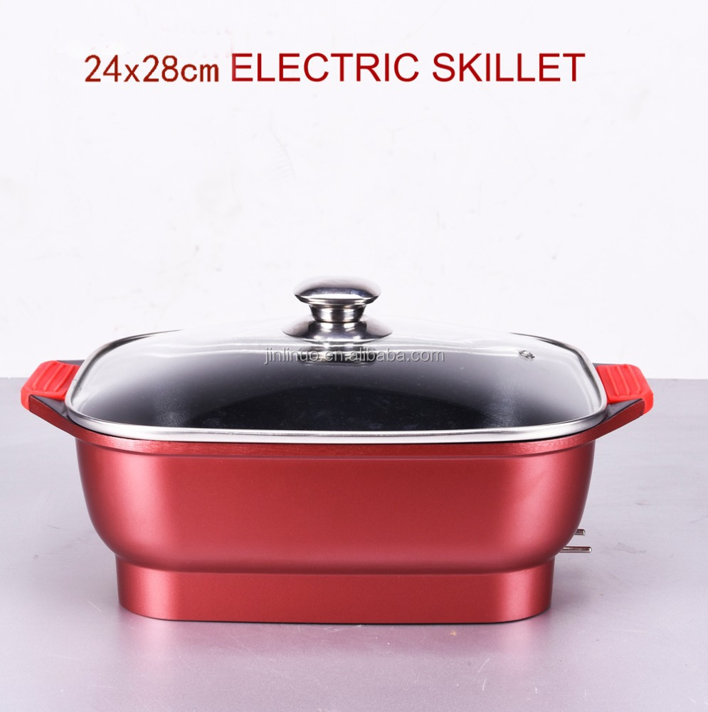 Electric Stock Pot ~ Electric skillet pot with thermostat control and