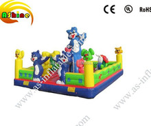 Inflatable animal fun city,big inflatable toys for summer