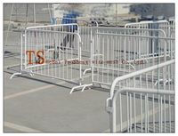 High quality hot dipped galvanized &pvc coated used temporary fence for sale (Professional factory)