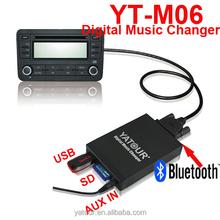 For car radio usb/sd/aux mp3 interface digital car cd changer