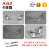 Best selling hot Chinese products two kinds Headlamps covers for TOYOTA AVANZA PARTS high quality car accessories