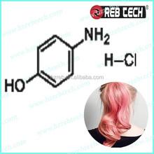 Hair dye 4-Aminophenol hydrochloride 51-78-5