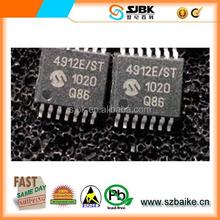 New Original DAC 10BIT DUAL W/SPI 14-TSSOP IC MCP4912-E/ST