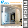 High Quality Slim Design Black Mirrored bathroom furniture set,Classical bathroom furniture,modern bathroom furniture