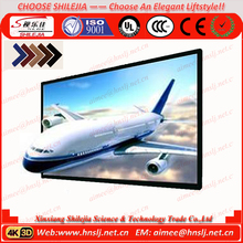 4:3 Aluminium Alloy Black Velvet Fixed Framed Projection Screen Aluminum Frame PVC Fabric of Projector Screen Frame