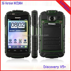 Best Quality Best Price Rugged IP67 Waterproof Android 4.2.2 Phone Discovery V5+ 4GB ROM