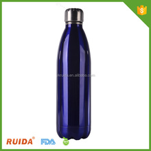 new design double wall vacuum insulate eco-friend stainless steel travel bottle