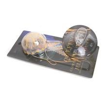 Free Shipping LED Glowing Simulation Jellyfish Aquarium Fish Tank Landscape Ornament Decorative Simulation Jellyfish