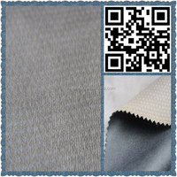 hot sale 100% polyester suede fabric shoes materials