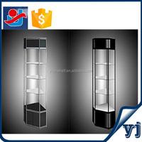 Hot sale diagonal corner cabinet/wooden corner stands/tall corner cabinets