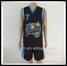 2015 new design latest sublimation basketball uniform/jersey design for men