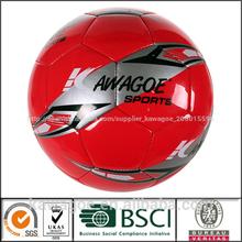 cosido a máquina de baratos pelota de fútbol
