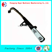 factory low price carbon fiber high performance 150cc motorcycle muffler