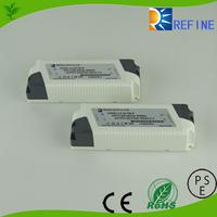8w 16w 25w 36w 45w Output Power and 100~240V Input Voltage dimmable led power supply, led light power supply