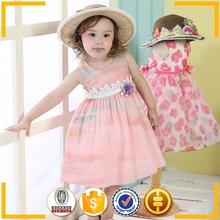 Ropa de bebé orgánica 2015 verano coreano / algodón 3-9 años al por mayor de ropa de niños de porcelana