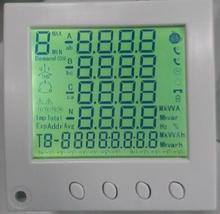 Multifunctional power meter Digital output ammeter panel meter Power Quality Analyzer