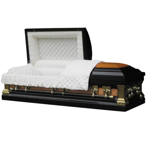 Amerikanische Art, die Gerät-Metallschatullen-Begräbnis- Sarg 11018111 senkt