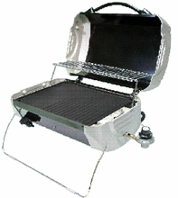 Portable table top indoor & outdoor BBQ/barbecue propane gas griddle
