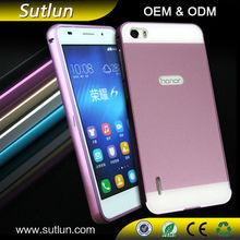 New Luxury Aluminum Metal Bumper Case + Hard Back Cover For ASUS Zenfone 2 3 LG g2 g3 HTC desire 820 826