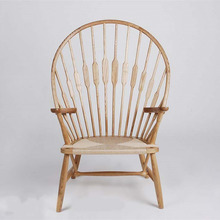 High Quality Classic Hans Wegner Solid Wood Peacock Chair Replica Full Same Design and Quality 2015 Latest Development