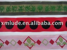 2012 hot sales custom embroidered ribbon