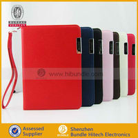credit card pocket leather cover case for ipad mini